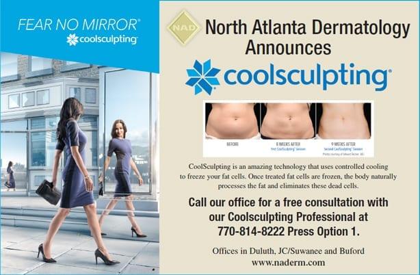 CoolSculpting now at North Atlanta Dermatology