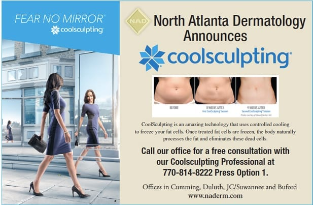 CoolSculpting now at North Atlanta Dermatology